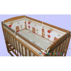 Защитный бампер на детскую кровать Медисон ДБ090