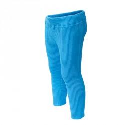 Лосины голубые 100% шерсть Merino р.86-104 СОФІЯ