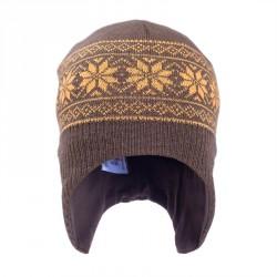 Шлем коричневый СОФІЯ р.46, 50