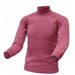 Гольф р. 86-128, 100% шерсть мериноса СОФІЯ 712-2 розовый