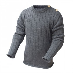 Джемпер серый 100% шерсть Merino р.86-104 СОФІЯ