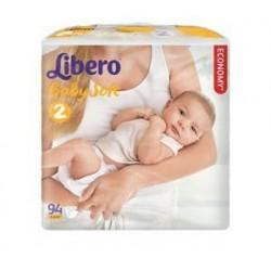 Подгузники Libero Baby Soft 2 (3-6 кг) 94 шт.