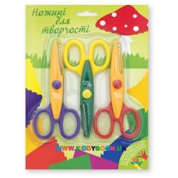 Набор ножниц детских 13 см 3 шт. 1Вересня 480133