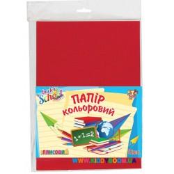 Набор глянцевой цветной бумаги А4 12 цветов 1Вересня 950255