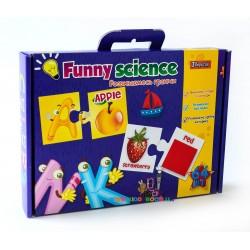 Набор карточек Funny science Английский алфавит 1 вересня 953058