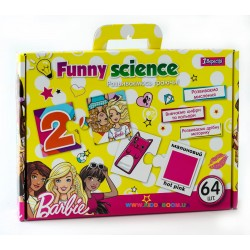 Набор пазлы карточки  Funny science Barbie 1 вересня 953064
