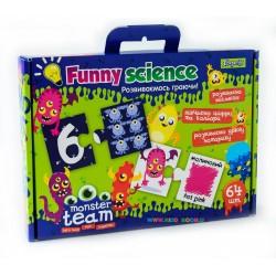 "Набор пазлы карточки ""Funny science "" ""Monster team"" 1 вересня 953068"