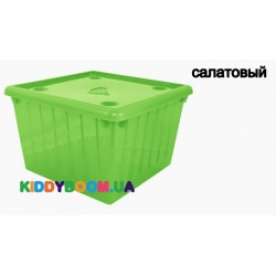 Ящик для игрушек с крышкой Алеана (25 л) 122043