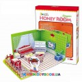 3D пазл CubicFun Honey room Livingroom C051-01h