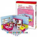 3D пазл CubicFun Honey room Bedroom C051-03h