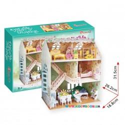 Интерактивная игрушка 3D пазл для девочки Кубик фан Дом мечты Alrey P645h