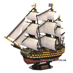 3D пазл CubicFun HMS Victory T4019h