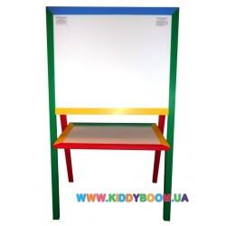 Детский мольберт для творчества  и обучения 60х60 см МБР2