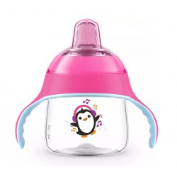 Чашка-непроливайка с носиком Avent SCF746/03 (200 мл) розовая