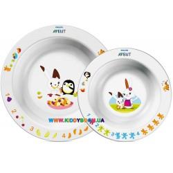 Набор детских тарелок Philips AVENT SCF708/00