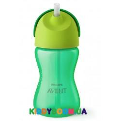 Чашка с трубочкой Avent (300 мл.) для мальчика c 12 мес. SCF798/01