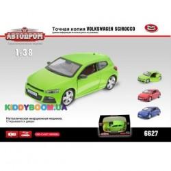 Масштабная модель 1:38 Volkswagen Scirocco Автодром 6627