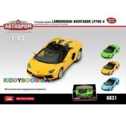 Масштабная модель 1:43 Lamborghini Aventador LP-700-4 Автодром 6631