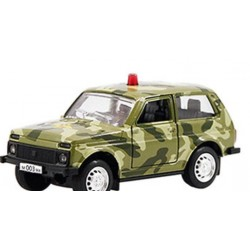 Металлическая машинка Автопарк ВАЗ-2121 Нива 6400C