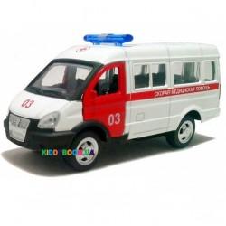 Модель автобус «ГАЗель-Скорая» Автопарк 6404A