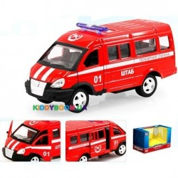 Масштабная модель 1:50 ГАЗ-3221 Автопарк 6404E