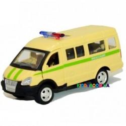 Модель автобус «ГАЗель-Инкасатор» Автопарк 6404F