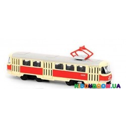Модель трамвай PLAY SMART (металл) Автопарк  6411A