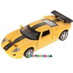 Машина металлическая FORD GT Автопром 67311