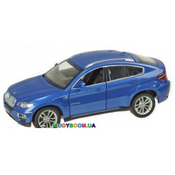 Машина металлическая BMW X6 Автопром 67313
