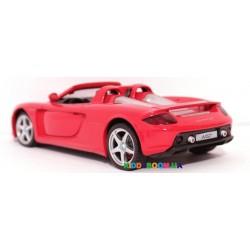 Машина металлическая 1:24 Porsche Carrera GT (свет, звук) Автопром 68242A
