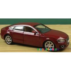 Машина металлическая 1:24 Audi A7, 2 цвета на батарейках (свет, звук) Автопром 68248A