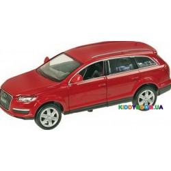 Машина металлическая на батарейках 1:24 Audi Q7, 2 цвета (свет, звук) Автопром 68249A
