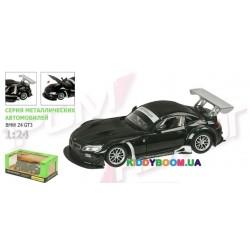 Машина металлическая (1:24) BMW Z4 GT3 на батарейках (свет, звук) Автопром 68251A