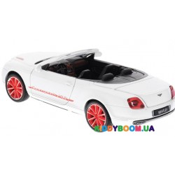 Машина металлическая М1:24 Bentley, 2 цвета на батарейках (свет, звук) Автопром 68259A