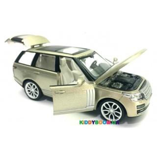 Машина металлическая М1:26 Range Rover, 2 цвета на батарейках (свет, звук) Автопром 68263A