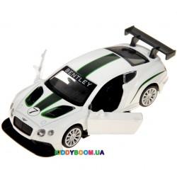 Машина металлическая (1:24) Bentley Continental GT3 Concept Автопром 68266A