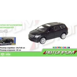 Машина металлическая 1:43 Buick Enclave (matte black series) Автопром 7625