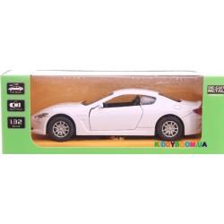 Машина металлическая Maserati (3 цвета) Автопром 7703