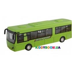 Автобус металлический на батарейках (свет, звук) Автопром 7780