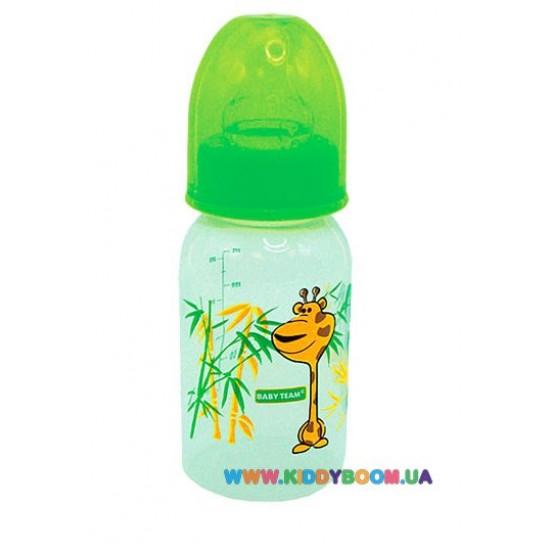 Бутылочка с силиконовой соской Bebek 250ml 4109