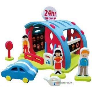Объемная игрушка-пазл «Кафе путешественника» BabyGreat GB-3DB