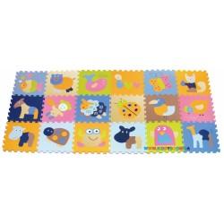 Игровой коврик-пазл «Волшебный мир» BabyGreat GB-M1218ABL