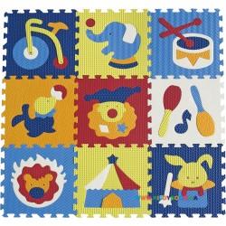 Игровой коврик-пазл «Удивительный цирк» BabyGreat GB-M129С