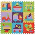 Игровой коврик-пазл «Быстрый транспорт» BabyGreat GB-M129V2
