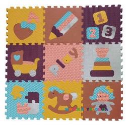 Игровой коврик-пазл «Интересные игрушки» BabyGreat GB-M1601