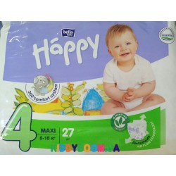 Подгузники Bella Happy Baby Green Tea Maxi 4 (8-18 кг) 27 шт.