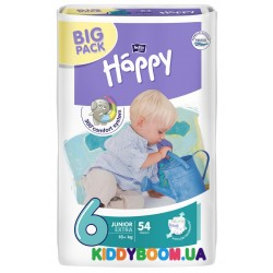 Подгузники Bella Happy Baby Junior Extra 6 Green Tea 54 шт. (16+ кг)