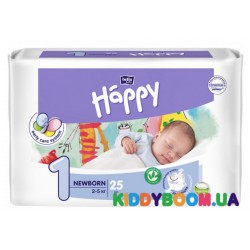 Подгузники Bella Happy Baby Green Tea Newborn 1 (2-5 кг) 25 шт
