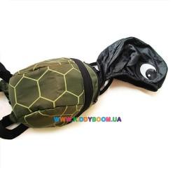 Рюкзак с поводком и капюшоном Черепаха