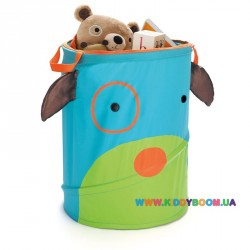 Корзина для игрушек круглая Собачка Skip-Hop Zoo